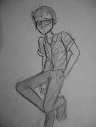 Ryan Met (AJR) - Sketch by Dauson