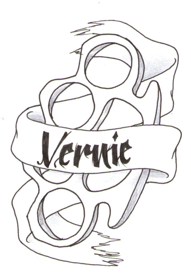 knuckle duster by punkvernie on deviantart Cleaning Clip Art Black and White knuckle duster by punkvernie
