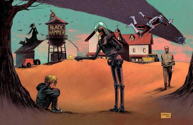 Black Hammer by GlebTheZombie