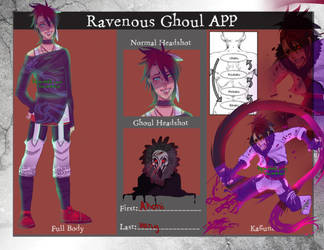 ravenous ghoul app Akoni by Watolf