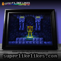 Super Metroid Framed Print by likelikes