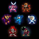 Megaman 1 Crew by likelikes