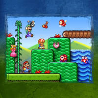 Super Mario Bros 2 by likelikes