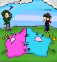 Ditto Battle by PachiBoo