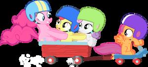 Pinkie Pie Surprise by Stinkehund