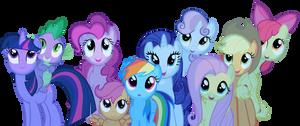 Staring Ponies by Stinkehund