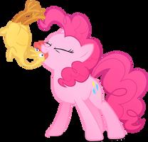 Pinkie being Pinkie by Stinkehund