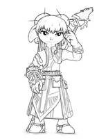 Asura sketch by Stinkehund