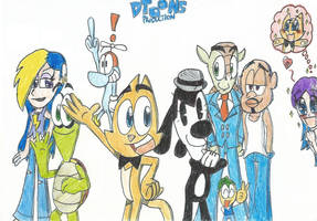 Doodley's DToons characters!! by FTFTheAdvanceToonist