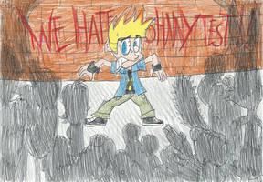 Everybody(except Me) VS. Johnny Test by FTFTheAdvanceToonist
