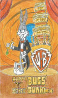 Happy Late 75th Birthday, Bugs Bunny!! by FTFTheAdvanceToonist