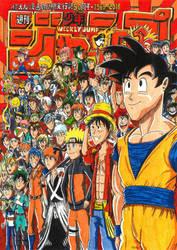 Weekly Shonen Jump - My 50th Anniversary Edition by FTFTheAdvanceToonist