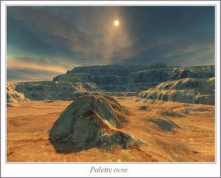 Palette ocre by sandpiper6