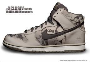 Nike n LRG  - AF1's by Stylus2k