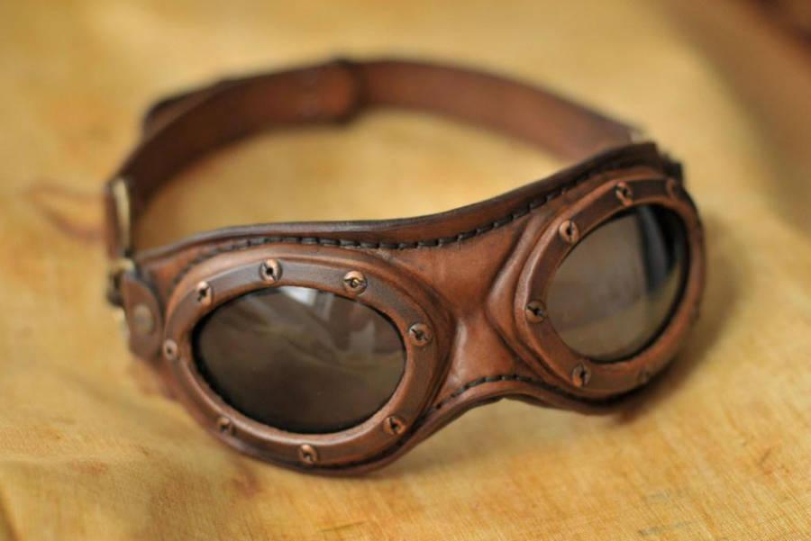 Steampunk aviator goggles by DenBow on DeviantArt