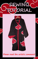 Akatsuki cosplay - tutorial by LiaDeBeaumont