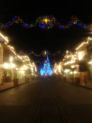 Magic Kingdom after hours by cubfan86