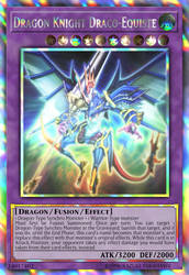 Dragon Knight Draco-Equiste (Mirage Rare) by sangmaitre