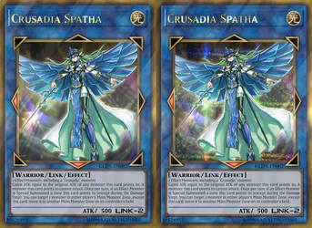 Crusadia Spatha (Gold Rare and Gold Secret Rare) by sangmaitre