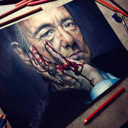 Kevin Spacey by thefrenchberet