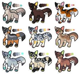 [OPEN] Feral Canine Batch! by StardustSane