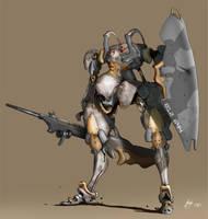 BattleMech by greyhole