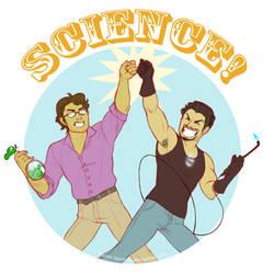 SCIENCE BROS by lauren-bennett