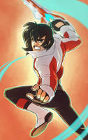 VOLTRON - Keith by lauren-bennett