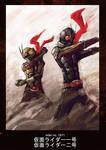 Kamen Rider Ichigo n Nigo by novicekid