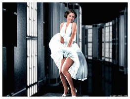 Leia as Monroe by Rabittooth