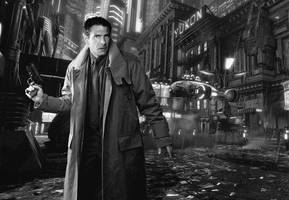 Blade Runner Wallpaper by Rabittooth