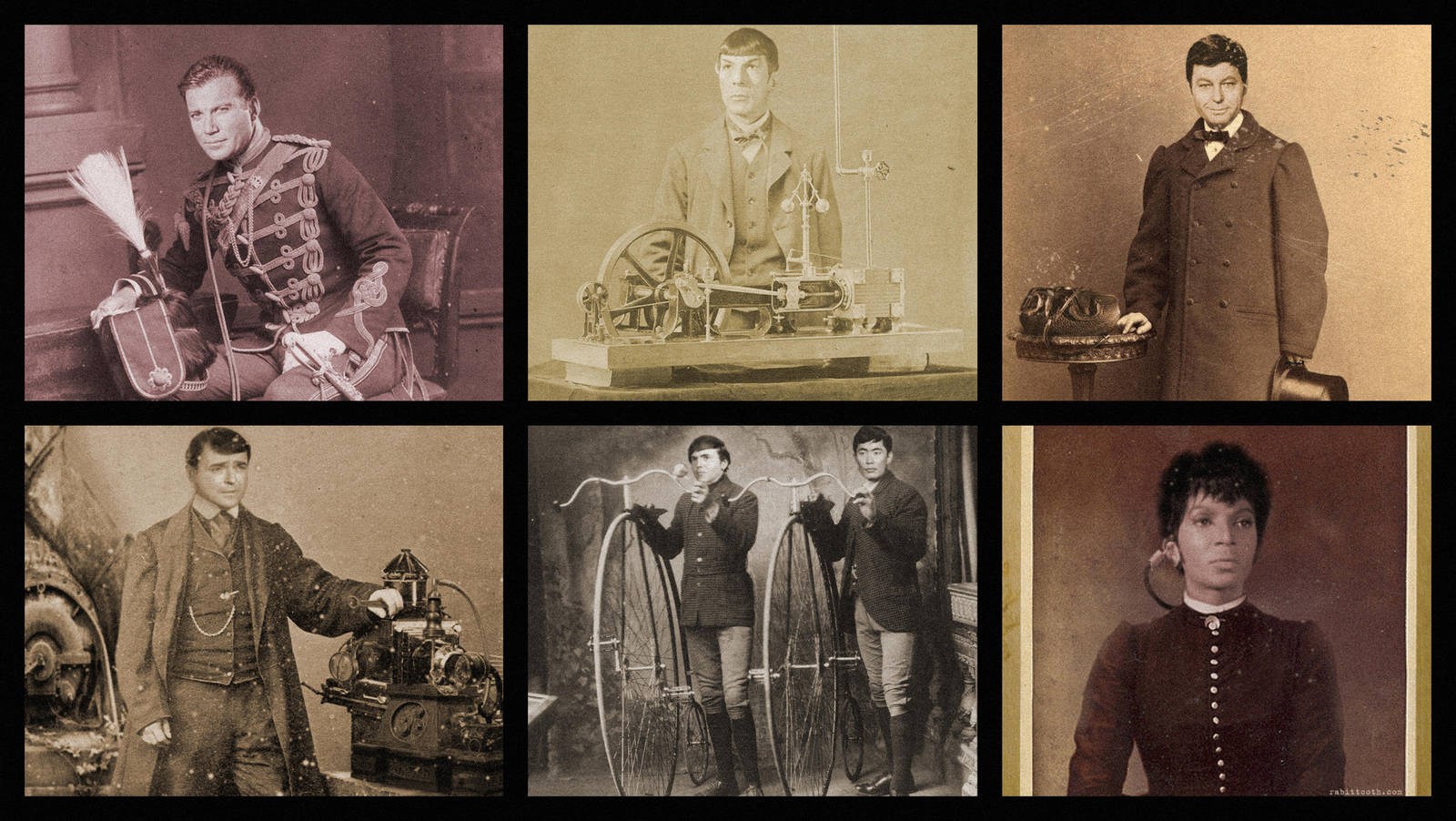 Victorian / Steampunk Trek by Rabittooth