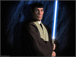 Jedi Master Spock by Rabittooth