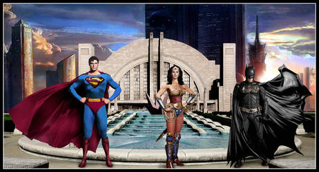 Meanwhile, back at the Hall of Justice ... by Rabittooth