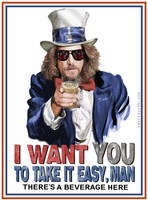 The Dude Wants YOU by Rabittooth