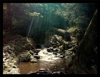 waterfall 3 by FlowerLisa
