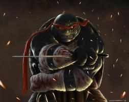 Raphael TMNT by omarmsamy