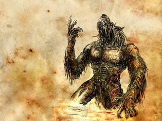 werewolf wallpaper by ridvan