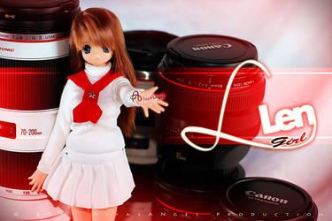 Canon L Len Girl - 02 by aliasangel2005
