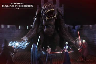 Star Wars Galaxy of Heroes The Rancor Raid 03 by aliasangel2005