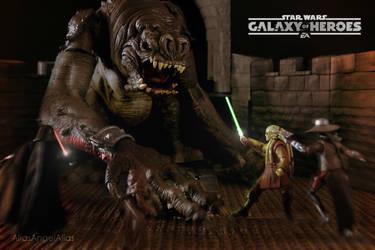 Star Wars Galaxy of Heroes The Rancor Raid 04 by aliasangel2005