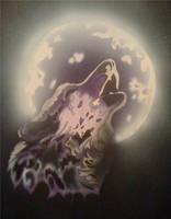 Wolf Moon by foxtalon