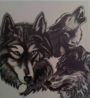 Wolves by foxtalon