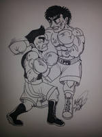 Ippo and Little Mac by MegaTenshin