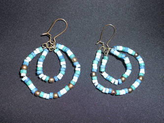 Egyptian Style Earrings by Taschasan