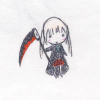 Chibi Maka-chan by MrGlassesMan