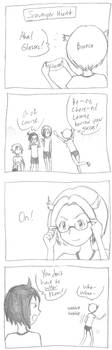 AzuCheren Comic Daioh by MrGlassesMan
