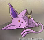 Pokemon mother and daughter by charliethemew012