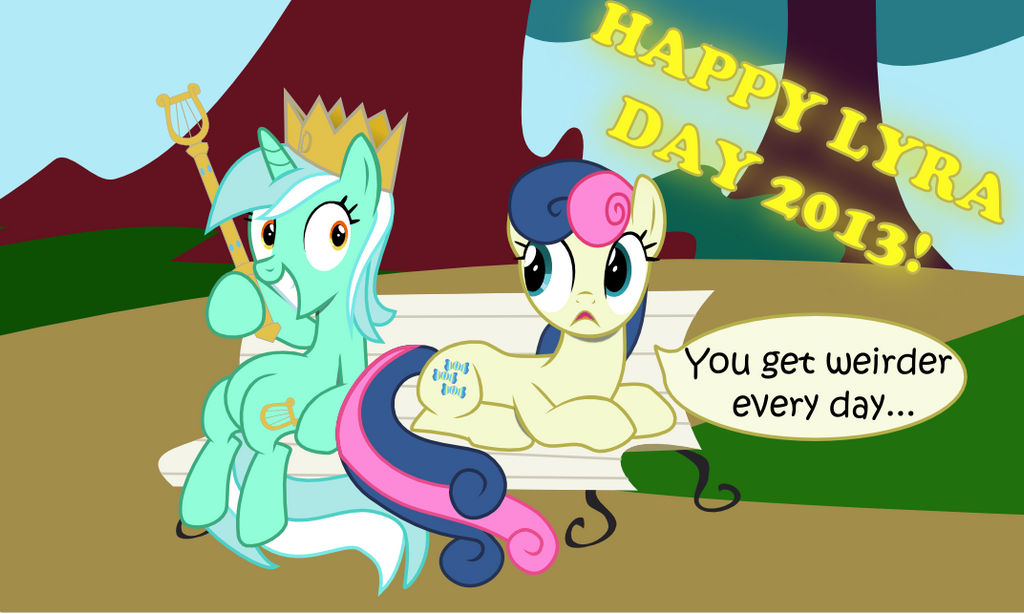 Lyra Day 2013 by HatBulbProductions