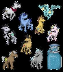 Background Ponies (Volume 4) by PhilosophyPony